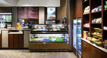 Need a quick meal consider the Sky Express at the Sheraton Orlando Airport Hotel