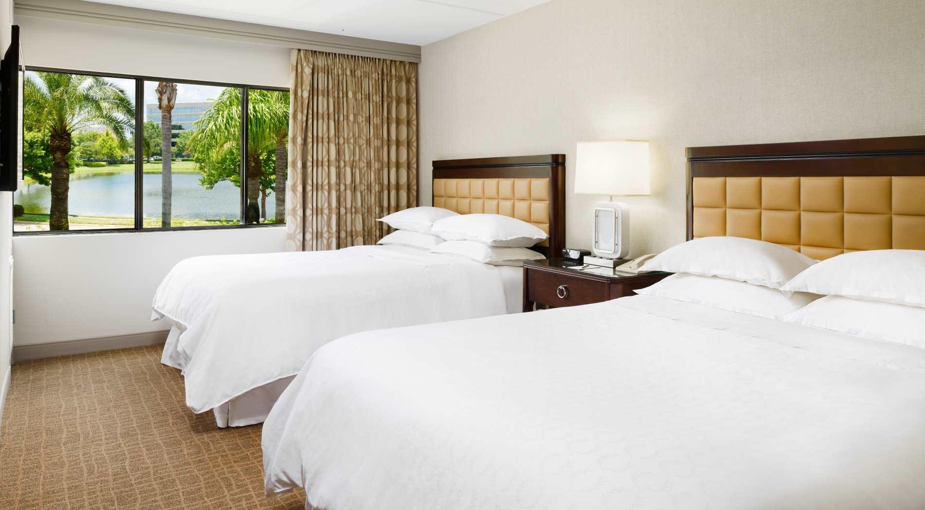 1 Bedroom Suite – 2 Queen